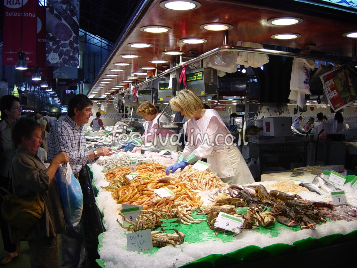 שוק לה-בוקריה בברצלונה - צילום באדיבות: © CarniFest Online