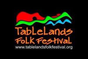 הלוגו של פסטיבל הפולקלור טייבלננדס - צילום:  www.tablelandsfolkfestival.org.au