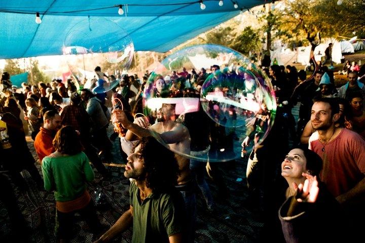אירוע המוזיקה - הרייב הגלקטי - צילום באדיבות:  אשרם במדבר