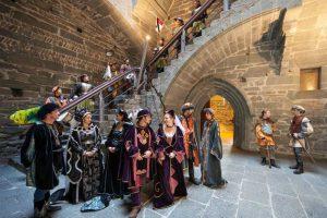 הקרנבל ההיסטורי של עיירת ימי הביניים וורס - צילום: www.lovevda.it