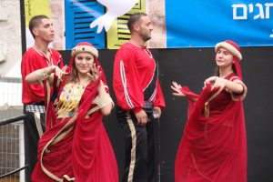 באירועי החג של החגים בואדי ניסנס בחיפה