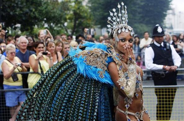 קרנבל נוטינג היל - צילום: www.thenottinghillcarnival.com