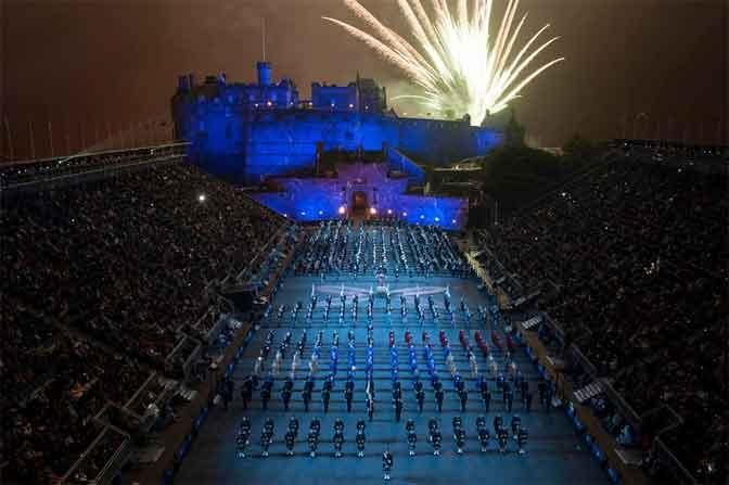 פסטיבל התזמורות הצבאיות של אדינבורו - צילום: www.edintattoo.co.uk