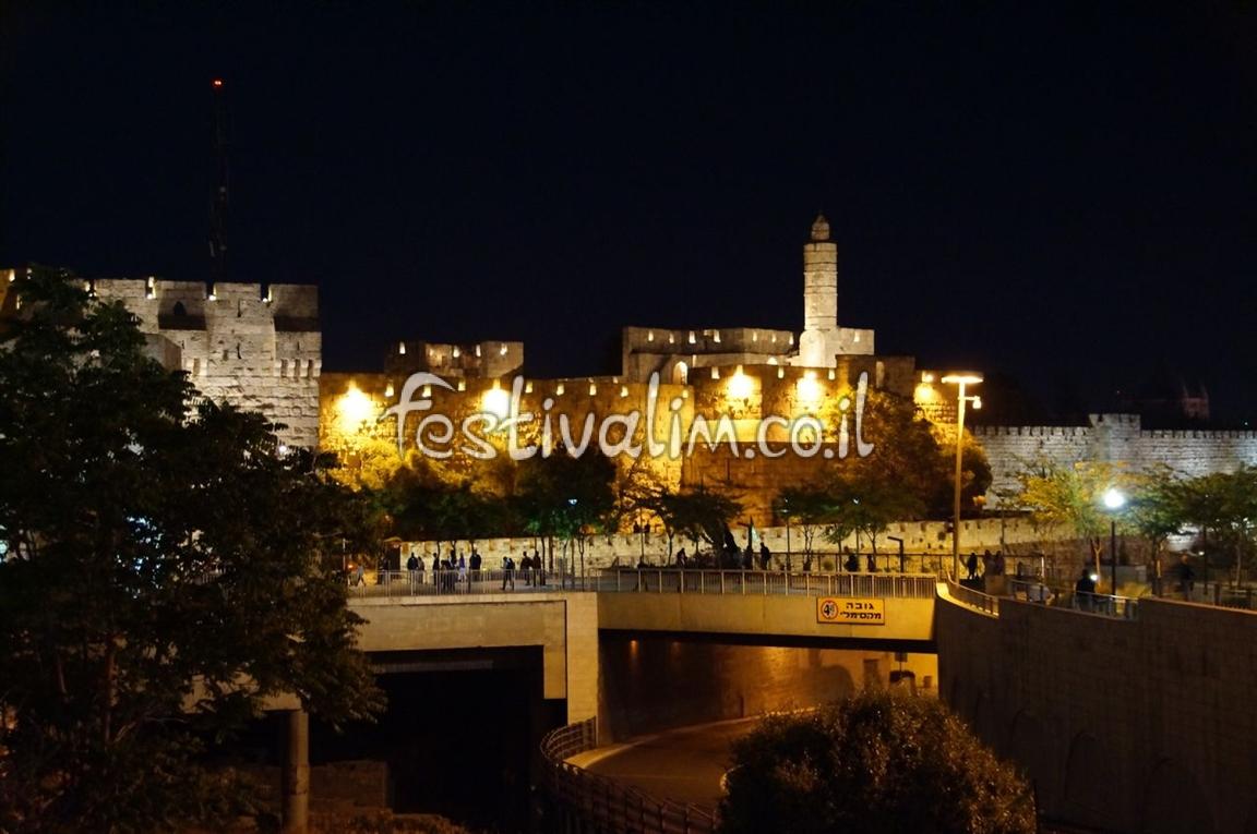 מגדל דוד בעיר העתיקה - ירושלים - צילום באדיבות: © CarniFest Online