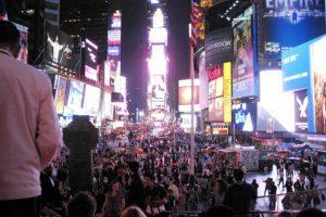 טיימס סקוור - ניו יורק - צילום: Denna