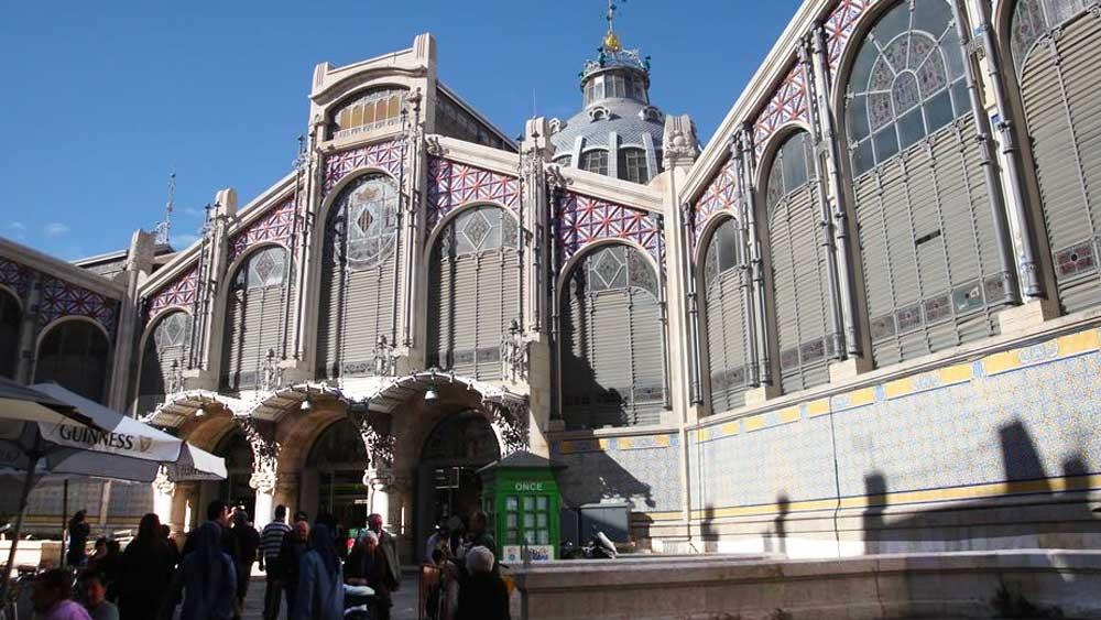 השוק המרכזי של וולנסיה - צילום: www.mercadocentralvalencia.es