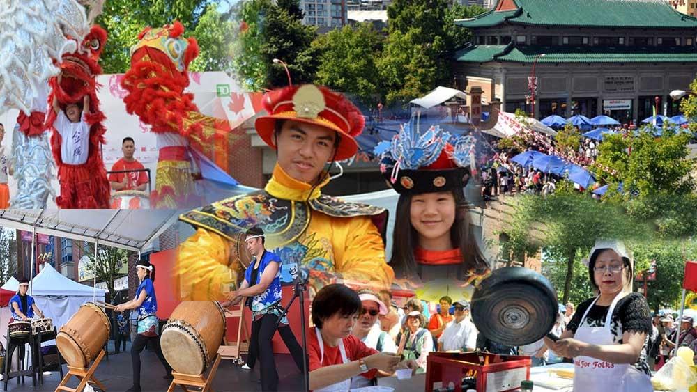 פסטיבל צ'יינהטאון וונקוברפסטיבל צ'יינהטאון וונקובר - צילום:  vancouver-chinatown.com