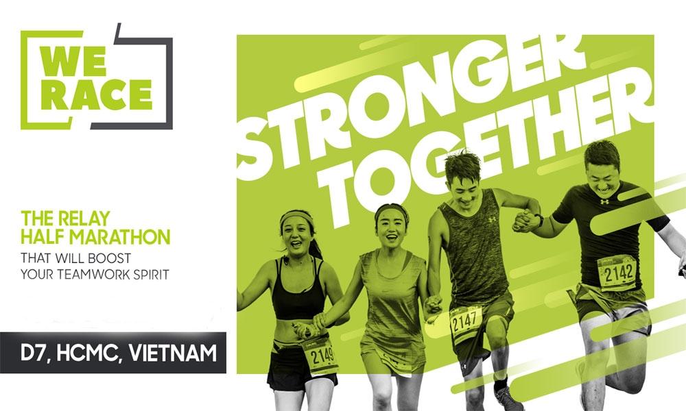 מרוץ המרתון השיתופי בויאטנם - צילום:  www.werace.vn