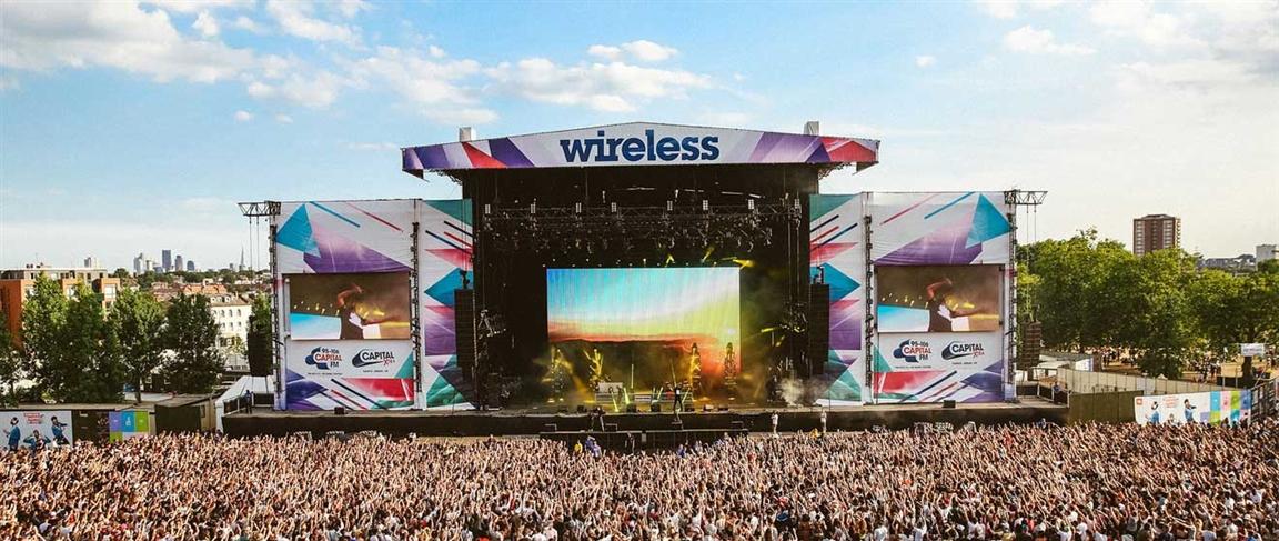 פסטיבל ווירלס - צילום:  www.wirelessfestival.co.uk
