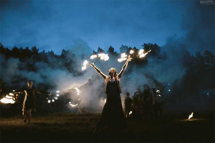 ייגה גטרינג מיוזיק - וִילְנָה ליטא - צילום: Goodlife photography - [Via Alina Yaga Gathering]