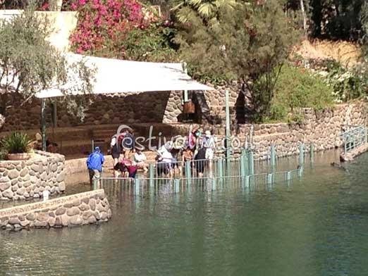 ירדנית – אתר הטבילה בנהר הירדן - צילום באדיבות: © CarniFest Online