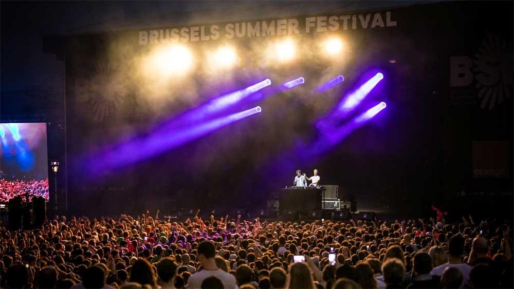 פסטיבל הקיץ של בריסל - צילום: Brussels Summer Festival - http:// bsf.be