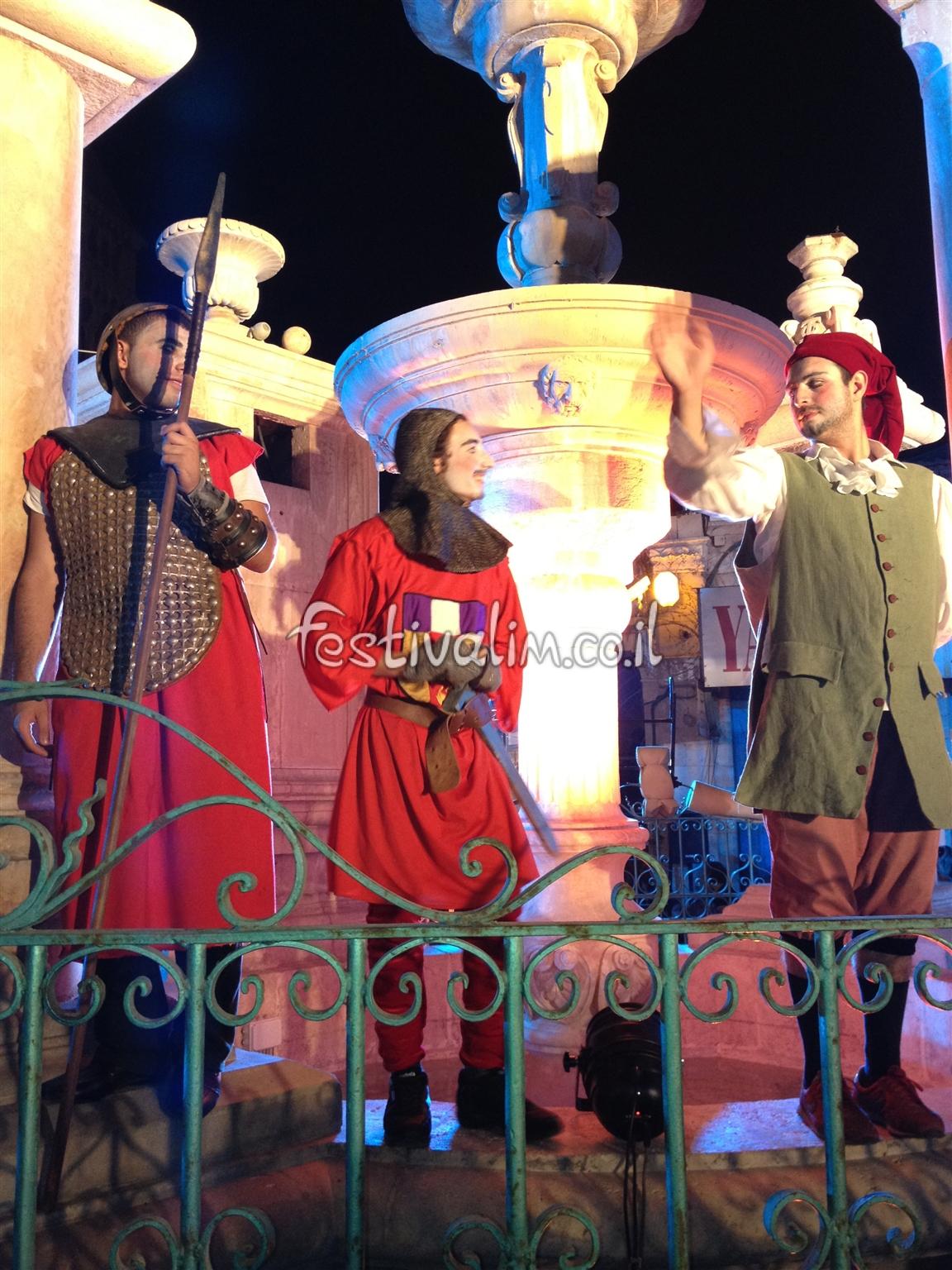 פסטיבל אבירים בערי העתיקה ירושלים - צילום באדיבות: © CarniFest Online