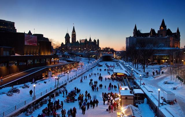 פסטיבל החורף ווניטרלוד באוטווה - צילום: Canadian Heritage - Patrimoine Canadien - www.canada.pch.gc.ca
