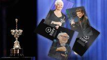 זוכי פרס 2018 - Judi Dench, Hirokazu Korreda and Danny DeVito - צילום: www.sansebastianfestival.com
