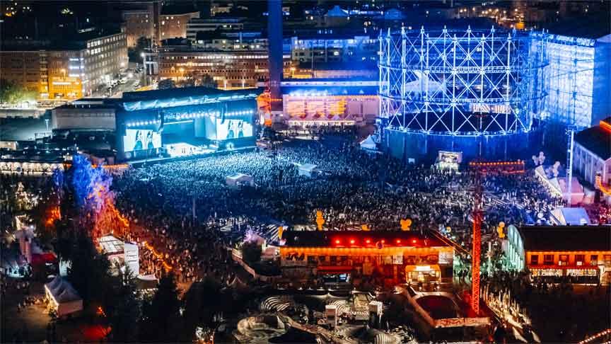 Flow Festival / צילום: KopterCam Petri Anttila